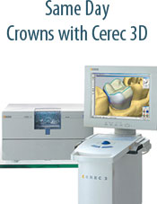 Harr Dental Same Day Crowns with CEREC 3D